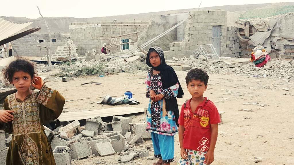 چابهار و حاشیهنشینی؛ تخریب خانههای مردم در روستای مراد آباد کمب