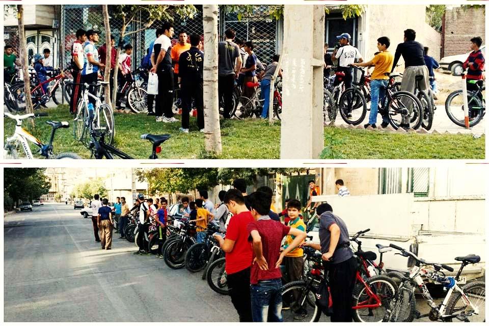 ممنوعیت دوچرخه سواری بانوان در شهر مریوان