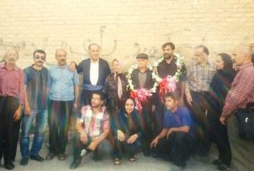 آزادی هاشم رستمی و مظفر صالح نیا از زندان سنندج