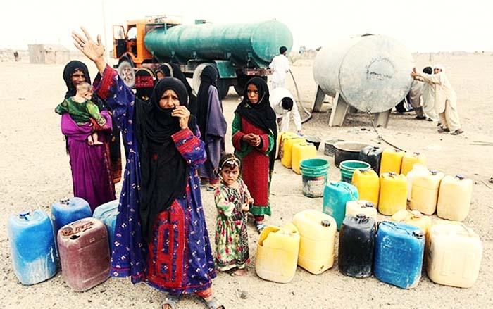 ۷۷ درصد ساکنان روستاهای چابهار از نعمت آب بی بهره اند