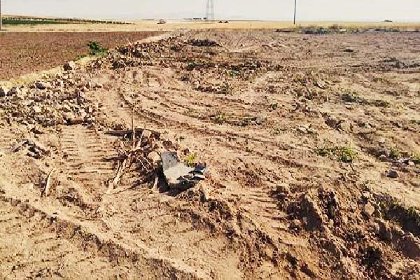تخریب گلستان جاوید قروه از سوی نیروهای امنیتی