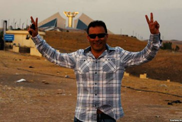 بازداشت رضا (رابین) شاهینی پس از ورود به ایران پس از هفت سال به اتهام شرکت در تظاهرات سال ۸۸