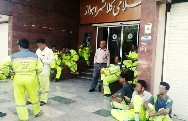 کارگران بازداشتی شهرداری اهواز: هیچ جرمی مرتکب نشدهایم