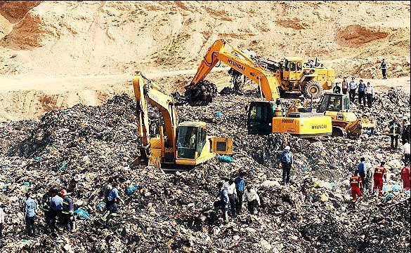 ۹۰ درصد مناطق دفن زباله نهاوند از نظر ضوابط زیستمحیطی مشکل دارند