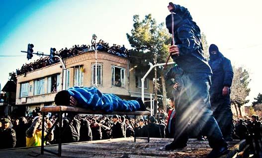 شلاق در ملاء عام در استان بوشهر