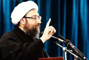 صادق لاریجانی: «آنها که به دشمن چراغ سبز میفرستند 'محارب' و 'مفسد فیالارض' هستند»