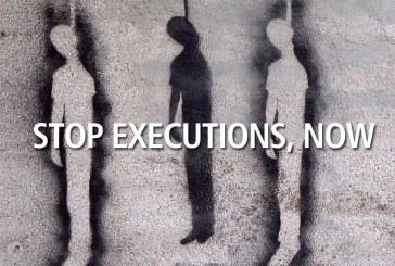اعدام دستکم پنجاهوشش تن در اسفندماه سال ۱۳۹۵