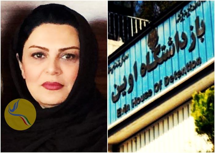 آفرین چیت ساز با پایان مرخصی به زندان اوین بازگشت