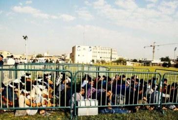 نیروی انتظامی شیراز «اتباع بیگانه» بازداشت شده را به نمایش گذاشت