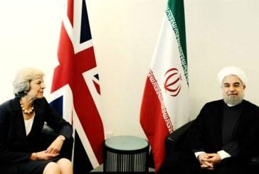 ابراز نگرانی ترزا می در جریان دیدار با رئیسجمهوری ایران نسبت به وضعیت نازنین زاغری رتکلیف
