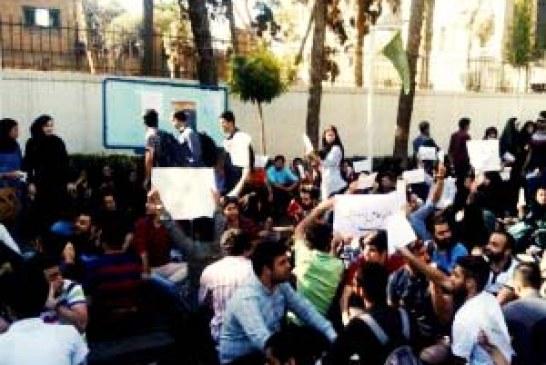 بیش از ۱۵ مورد احضار دانشجویان به نهادهای امنیتی در زنجان