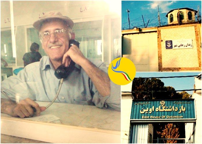 اعمال فشار بر علی معزی؛ انتقال مجدد به زندان رجایی شهر
