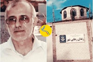 انتقال علی معزی به بند زندانیان سیاسی زندان رجاییشهر پس از پانزده روز حبس در قرنطینه