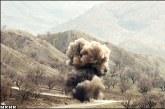 انفجار مین در منطقه مرزی پیرانشهر باعث قطع پای یک شهروند شد