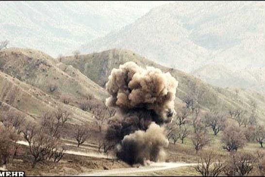 بر اثر انفجار مین در قصرشیرین یک نفر دچار موجگرفتگی شد