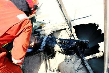 سقوط کارگر ۳۵ ساله یک واحد تولیدی در استخر قیر
