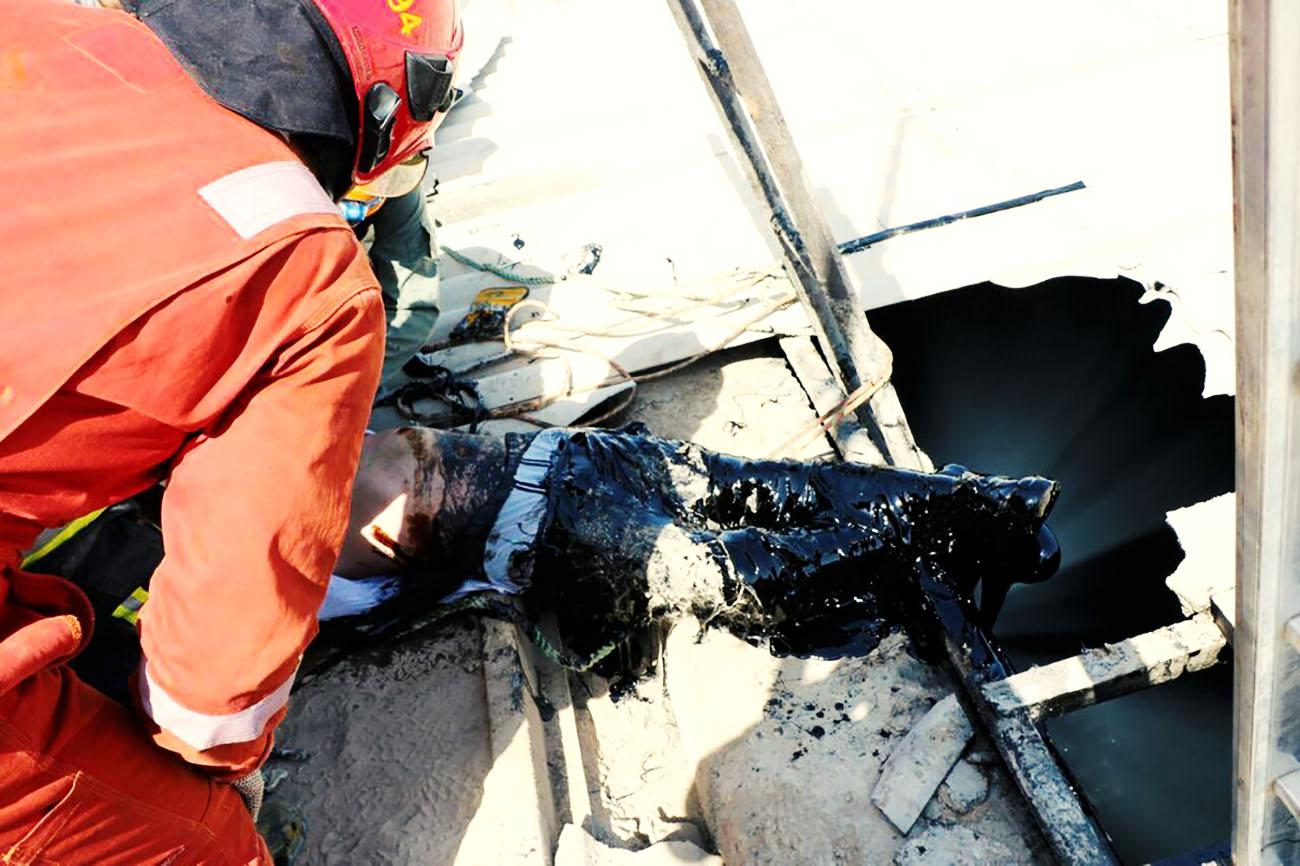 مرگ کارگر جوان بر اثر سقوط از ساختمان