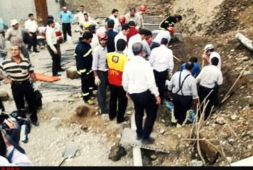 کشته و زخمی شدن ۴ کارگر در گودبرداری غیراصولی در ارومیه