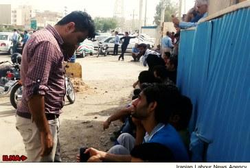 تعویق ۷ ماه مطالبات ۴۰۰کارگر نگهبانی قطار شهری اهواز