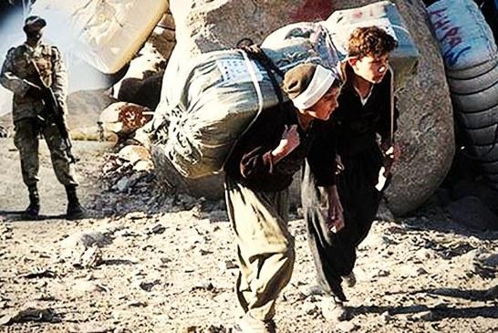 مرگ یک کولبر در ارتفاعات اورامان و گردنه تته