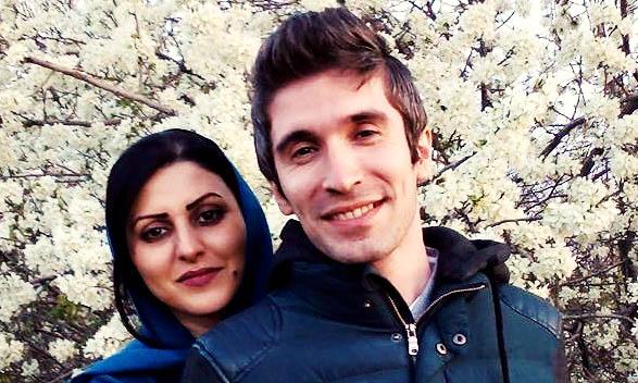 احضار آرش صادقی به دفتر حفاظت اطلاعات زندان پس از «دستدادن» با آتنا دائمی
