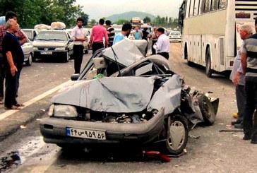 مرگ روزانه ۴۹ نفر در جادههای کشور