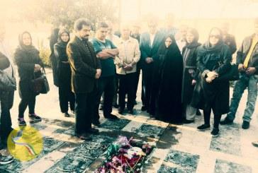 مراسم چهارمین سالگرد ستار بهشتی در فضای امنیتی برگزار شد/ تصاویر