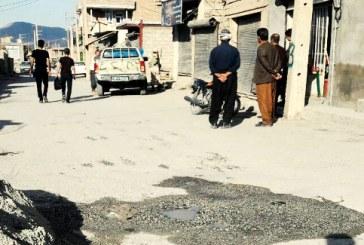 نیروی انتظامی با صاحبان احشام باربر در دیزج مرگهور برخورد میکند