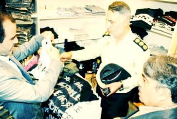 برخورد جدی پلیس قزوین با فروشندگان لباسهایی که «نامتعارف» میداند
