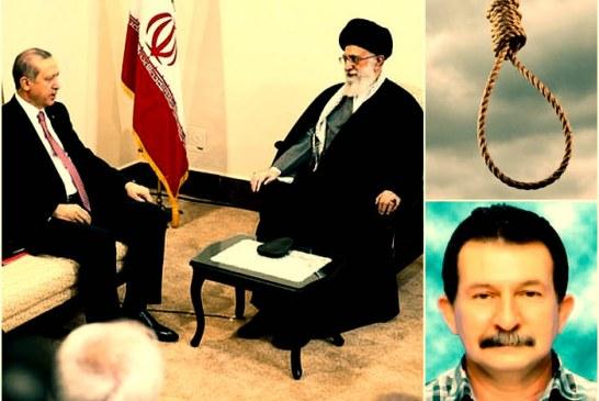 اعدام سه تبعه ترکیه پس از سفر اردوغان به تهران در سال ۱۳۹۴