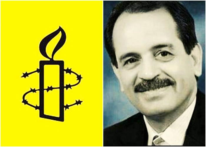 ابراز نگرانی عفو بین الملل از وضعیت محمد علی طاهری