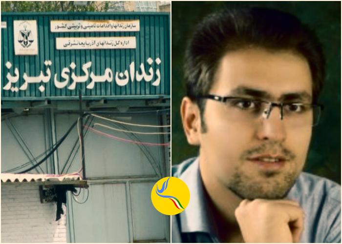 مرتضی مرادپور در زندان تبریز دست به اعتصاب غذا زد