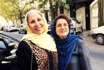 مهوش شهریاری پس از پایان مرخصی به زندان اوین بازگشت