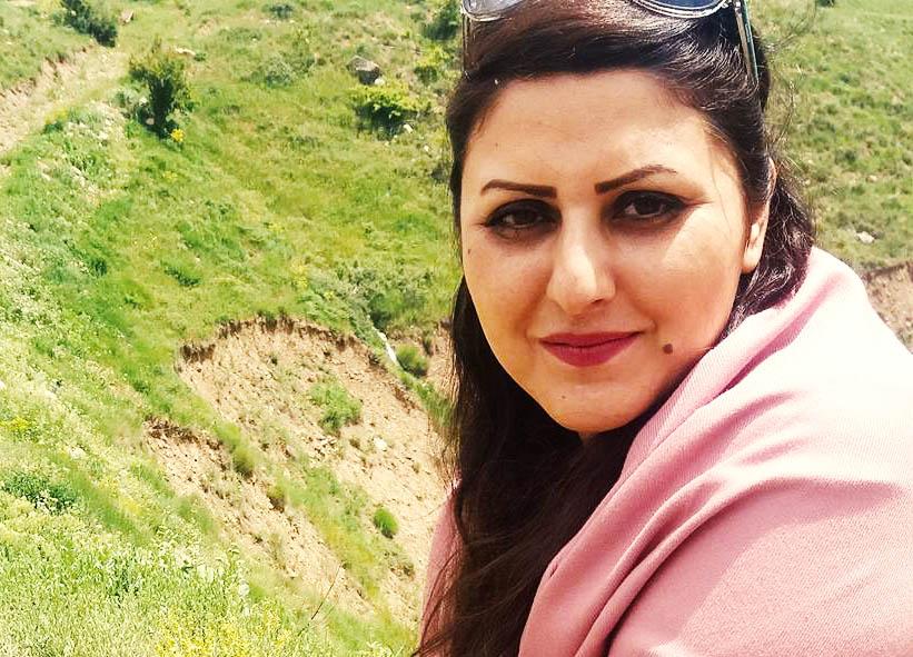 برخورد خشونت آمیز مأموران امنیتی هنگام بازداشت گلرخ ایرایی