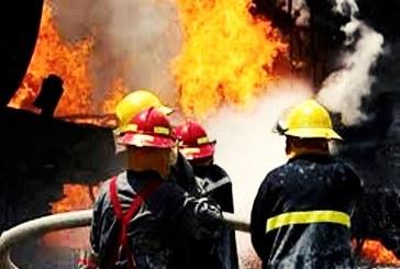 مصدومیت یک آتشنشان در حادثه آتشسوزی مجتمع پتروشیمی شورآباد