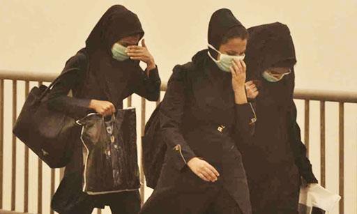 تشدید آلودگی هوا و پدیده گردوغبار در چند استان ایران