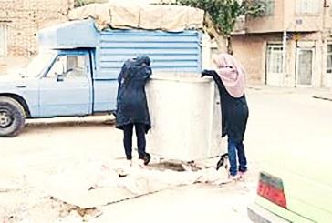 افزایش شمار زنان زبالهگرد و کارتنخواب