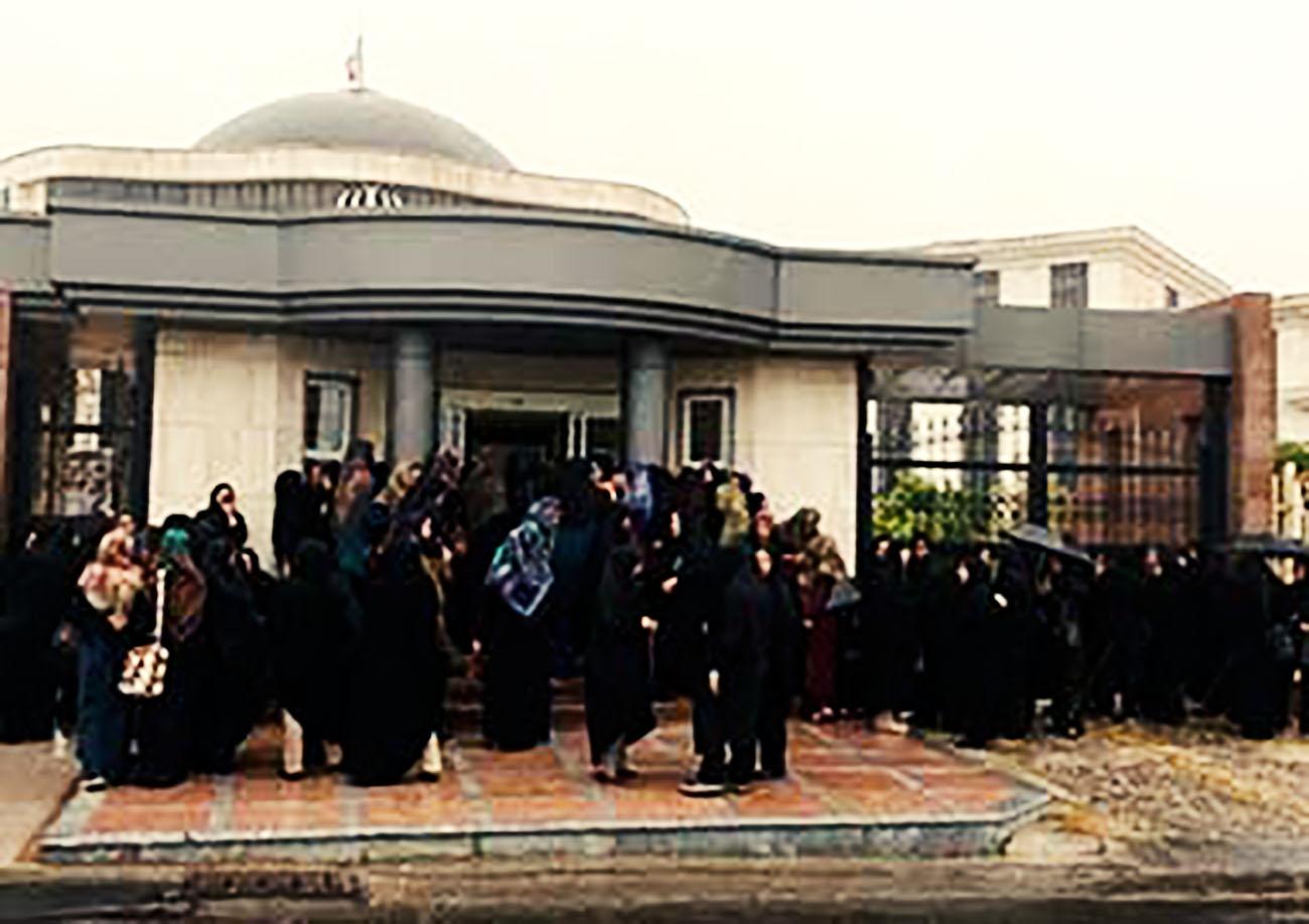 مربیان پیشدبستانی گلستان بار دیگر تجمع کردند