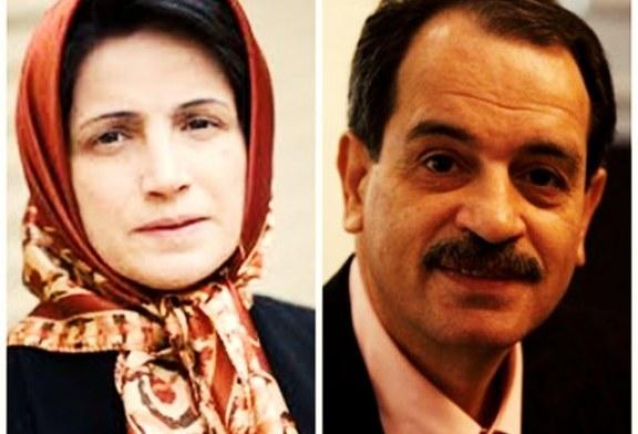 نسرین ستوده: نهادهای امنیتی در پرونده محمدعلی طاهری مداخله کردهاند