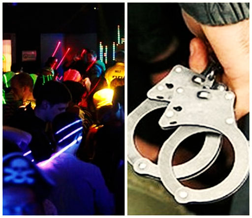 دستگیری ۱۶ دختر و پسر در مهمانی تماشای فوتبال