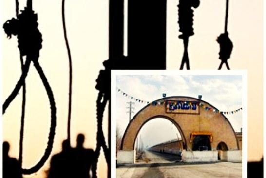 انتقال ۴ زندانی به سلول انفرادی زندان مرکزی کرج جهت اجرای حکم اعدام