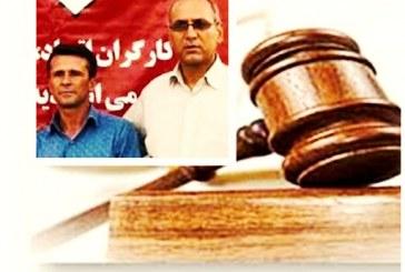 جعفر عظیمزاده و شاپور احسانیراد جمعاً به ۲۲ سال حبس محکوم شدند