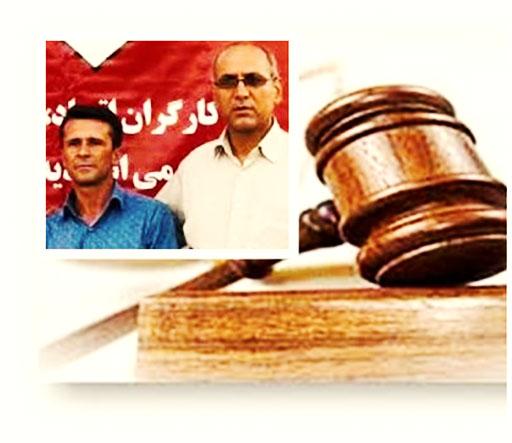 تاخیر در صدور حکم دادگاه جعفر عظیم زاده و شاپور احسانیراد