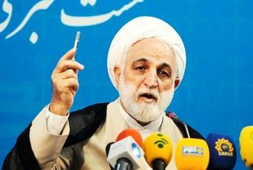 اژهای: اتهام مدیران تلگرامی بازداشتشده «نشر مطالب ضدامنیتی» است