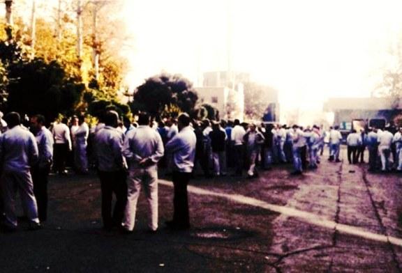 اعتصاب و تجمع ۲۰۰ تن از کارگران شرکت قالبهای صنعتی سایپا