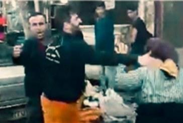 کارمند شهرداری فومن زن دستفروش را کتک زد