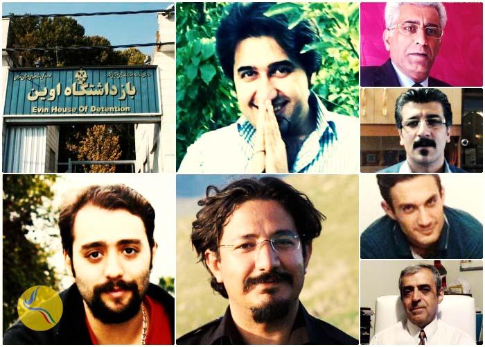 نامه ده تن از زندانیان سیاسی زندان اوین درحمایت از زندانیان در اعتصاب غذا