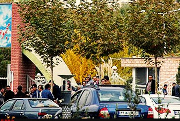 کارگران پیمانی قطار شهری کرج تجمع کردند