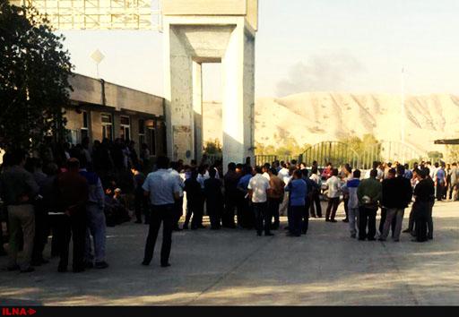 ادامه اعتراضات کارگران سیمان دشتستان/ توافقی حاصل نشد