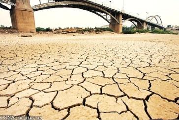 رودخانه زهره در خوزستان کاملا خشک شده است
